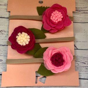 Other - Felt flower headband lot